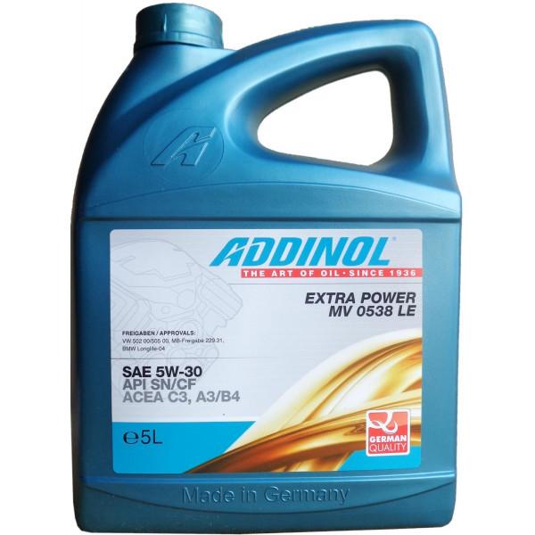 Addinol Extra Power MV 0538 LE 5W-30, 5L
