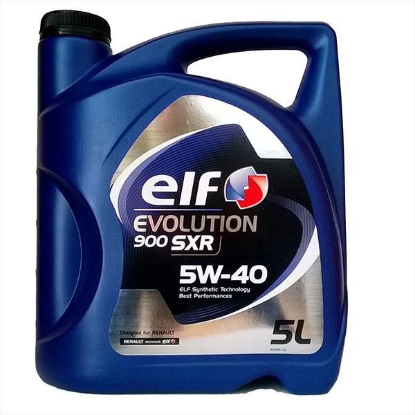 Elf Evolution SXR 5W-40, 5L