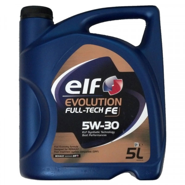 Elf Evolution Full Tech FE 5W-30, 5L