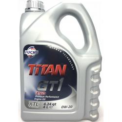Fuchs Titan GT1 EVO 0W-20, 4L
