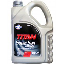 Fuchs Titan Supersyn Longlife 5W-40, 4L