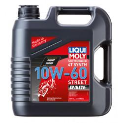Liqui Moly Motorbike 4T Synth Street Race 10W-60, 4L