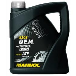 Mannol 8208 OEM ATF Type T-IV, 4L