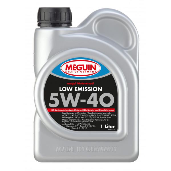 Meguin Low Emission 5W-40, 1L