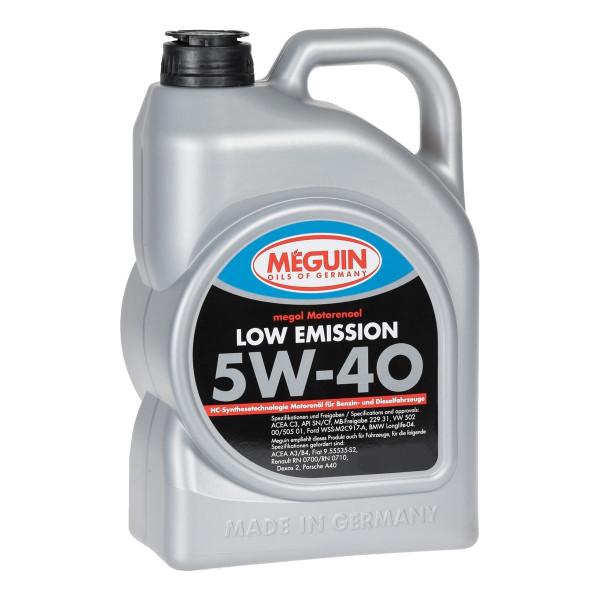 Meguin Low Emission 5W-40, 4L