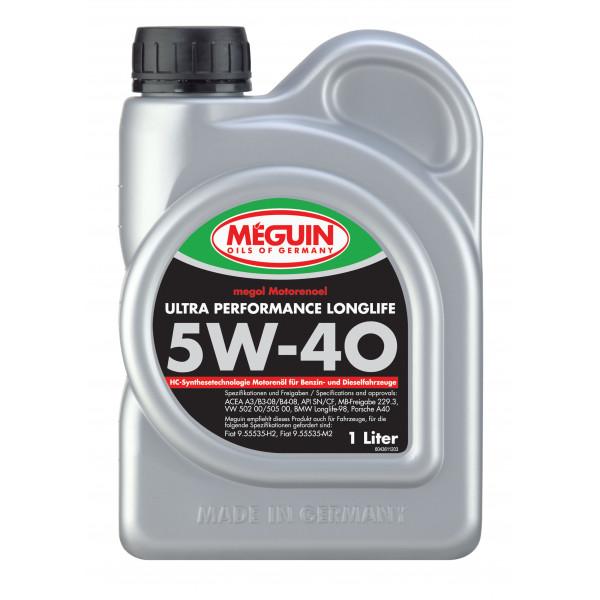 Meguin Ultra Performance Longlife 5W-40, 1L