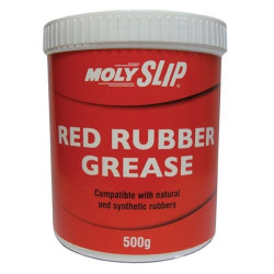 Molyslip Red Rubber Grease, 500gr