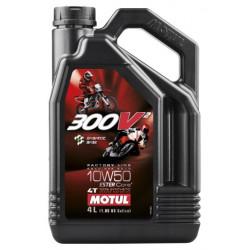 Motul 300V2 Factory Line RR 10W-50, 4L