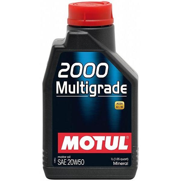Motul 2000 Multigrade 20W-50, 1L