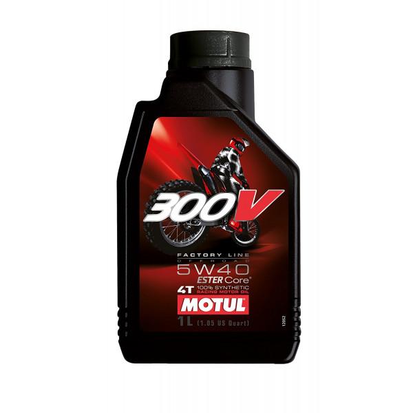 Motul 300V 4T Factory Line Off Road Racing 5W-40, 1L