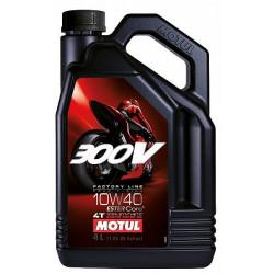 Motul 300V Factory Line 4T Road Racing 10W-40, 4L