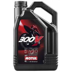 Motul 300V Factory Line 4T Road Racing 5W-30, 4L