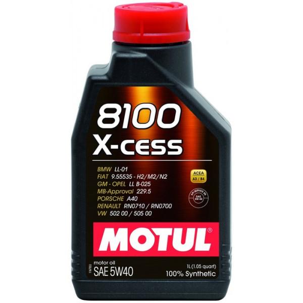 Motul 8100 X-Cess 5W-40, 1L