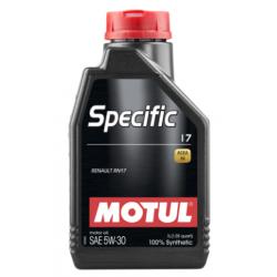 Motul Specific 17 5W-30, 1L