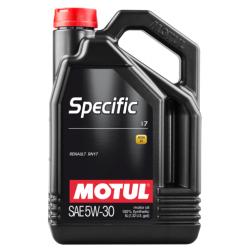Motul Specific 17 5W-30, 5L