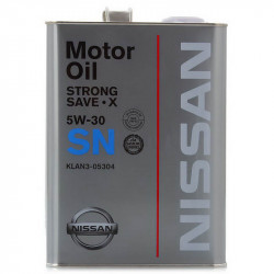 Nissan Strong Save-X SN 5W-30, 4L