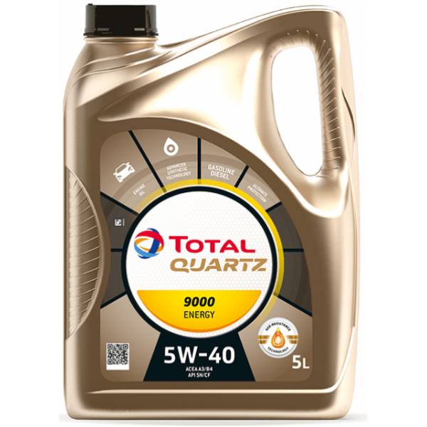 Total Quartz 9000 Energy 5W-40, 5L
