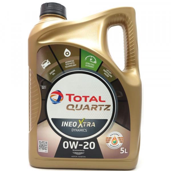 Total Quartz Ineo Xtra Dynamics 0W-20, 5L