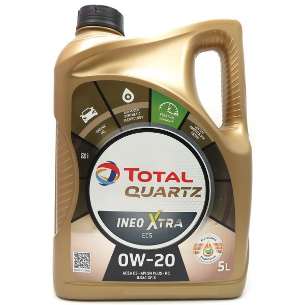 Total Quartz Ineo Xtra EC5 0W-20, 5L