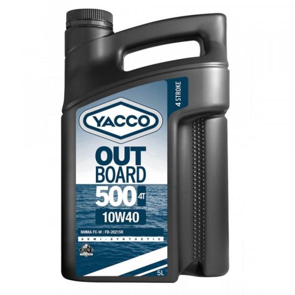 Yacco Outboard 500 4T 10W-40, 5L